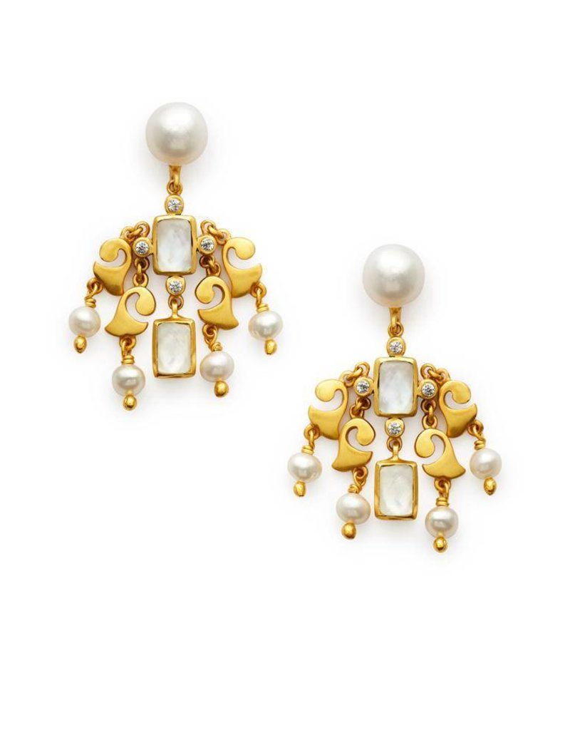 Clara Chandelier Earring Clear Crystal