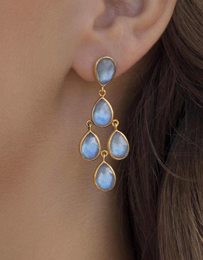 Clara Earring Blue