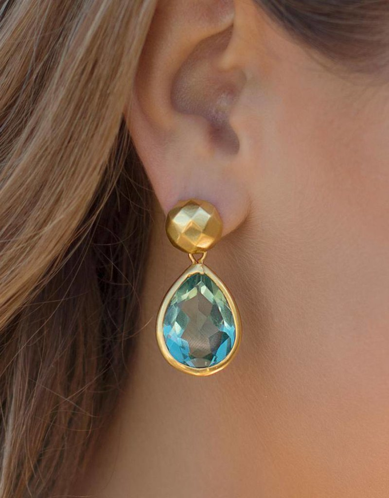 Catalina Midi Earring  Blue