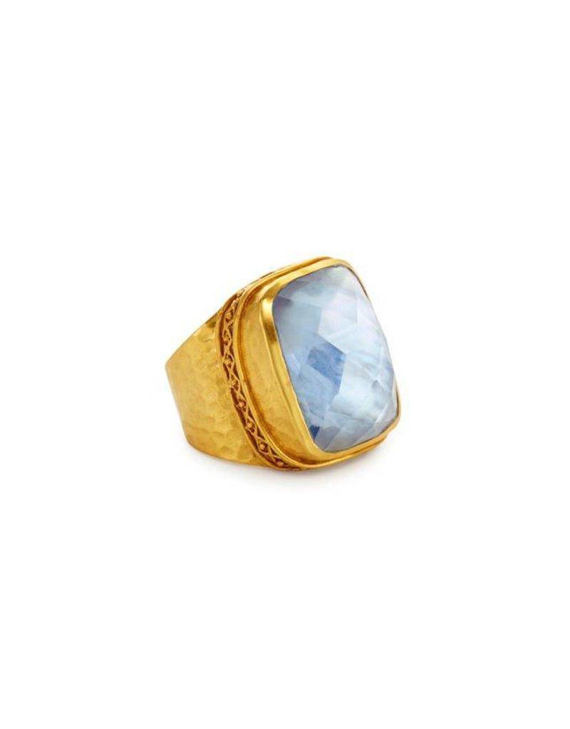 Catalina Statement Ring Blue