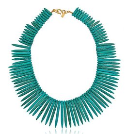 Turquoise Stick Necklace