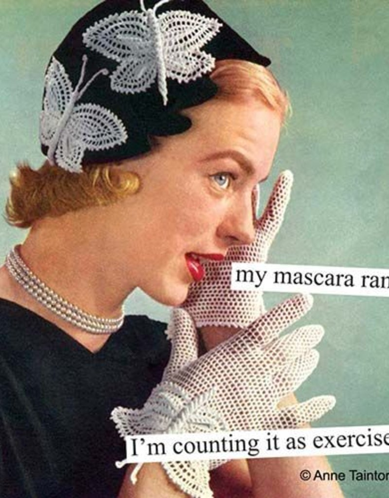 My Mascara Napkins