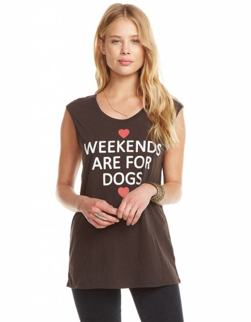 Weekends are for Dogs Tank