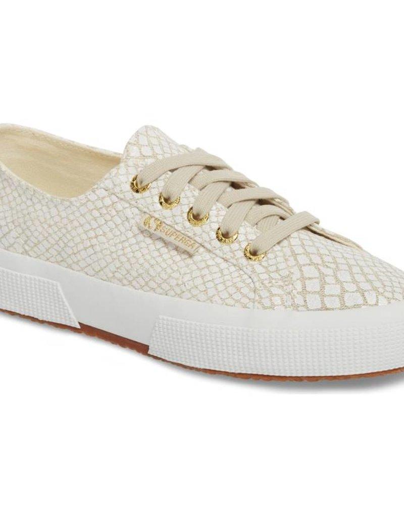 Croc Linen Sneaker