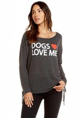 Dogs Love Me Sweatshirt