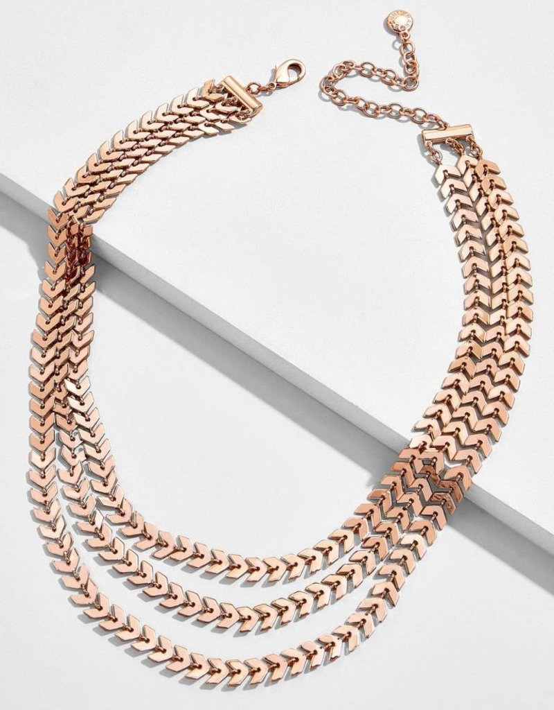 Crimson Layered Necklace ***See More Colors***