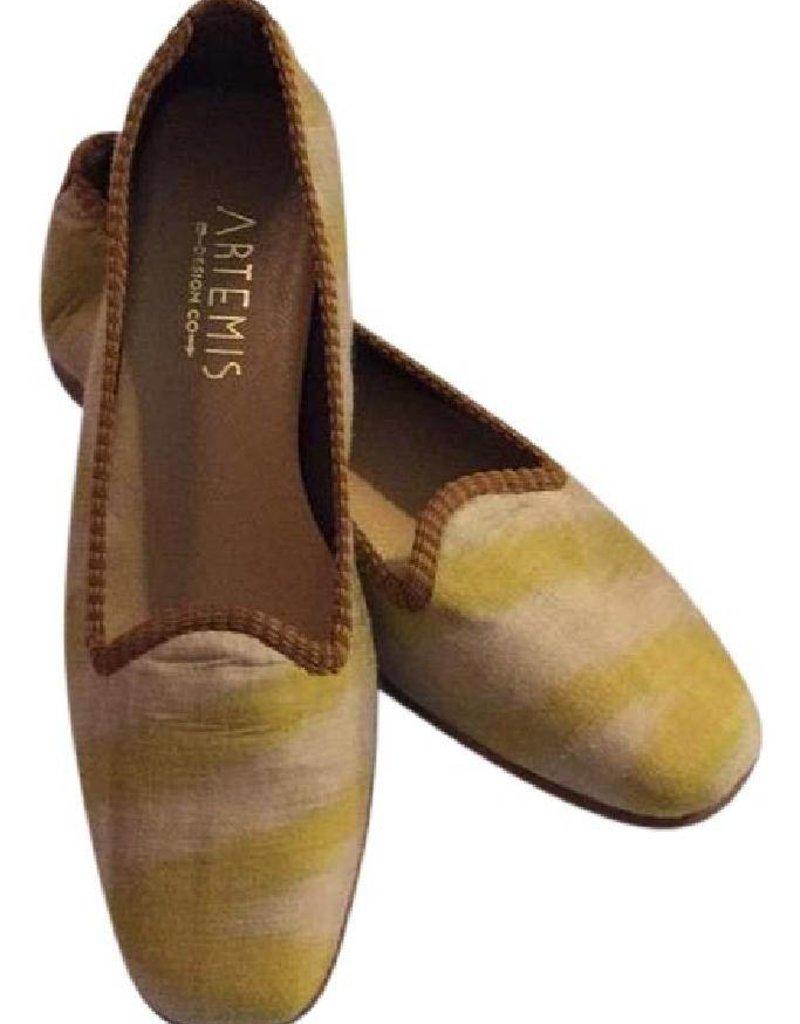 Honeymoon Silk Loafers