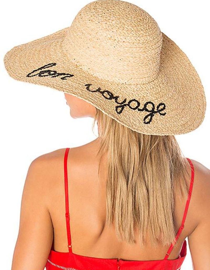 """Summer Hat   """"Bon Voyage"""""""