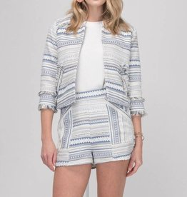 Bea Textured Stripe Jacket