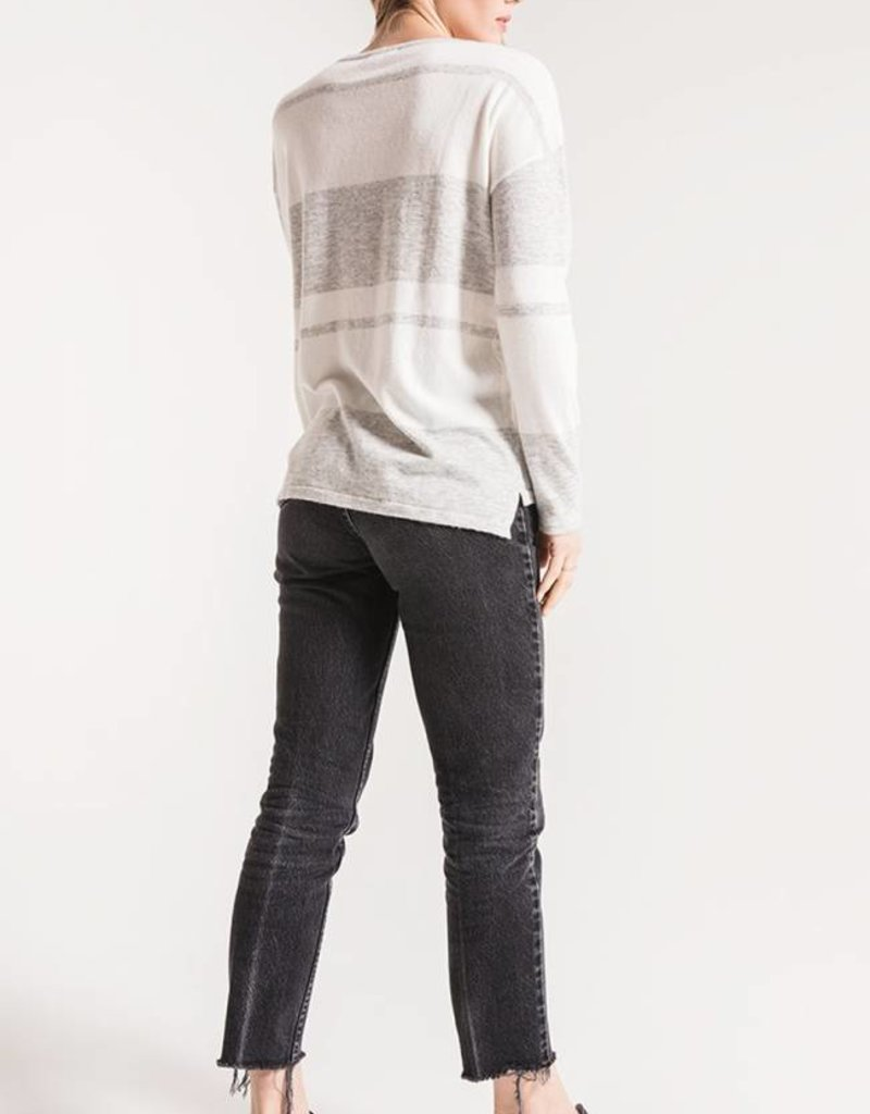 Genoa Striped Lightweight Sweater
