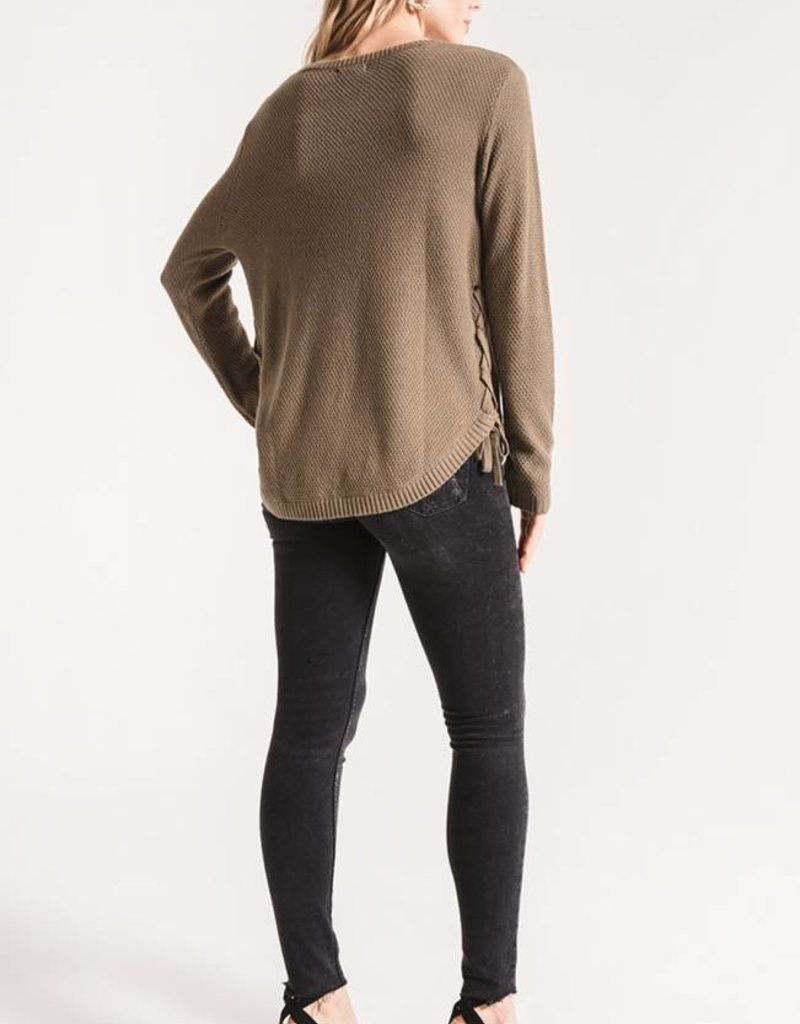 Pastena Side Tie Sweater