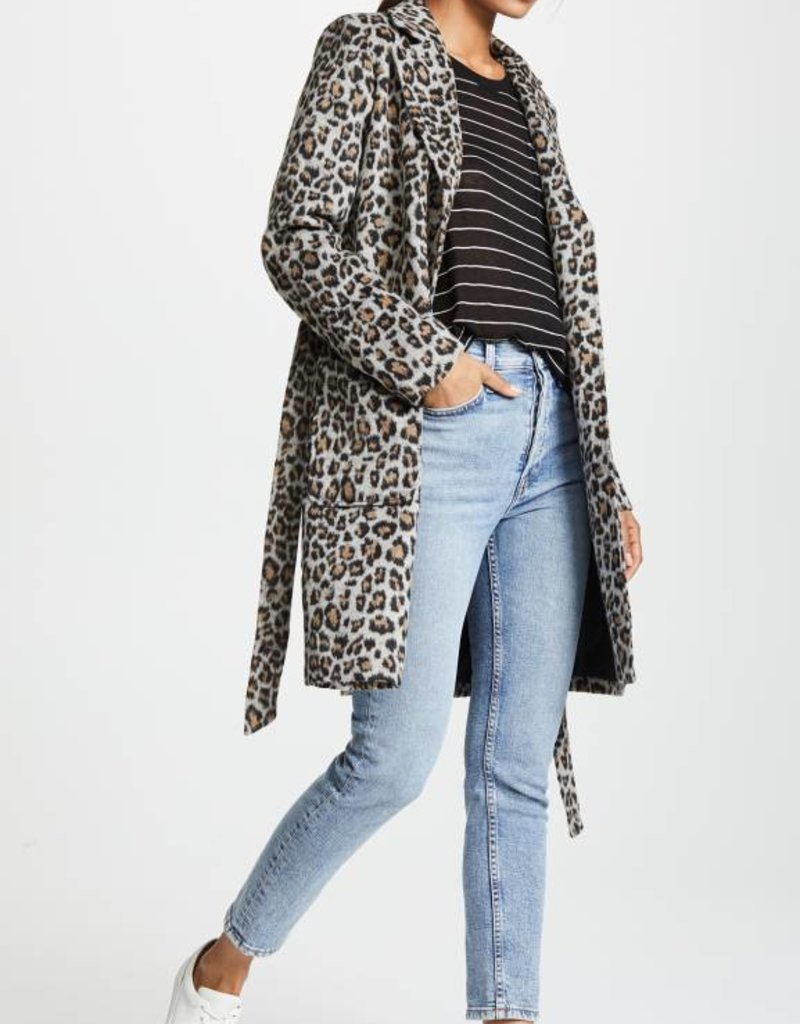 Fabrice Leopard Coat
