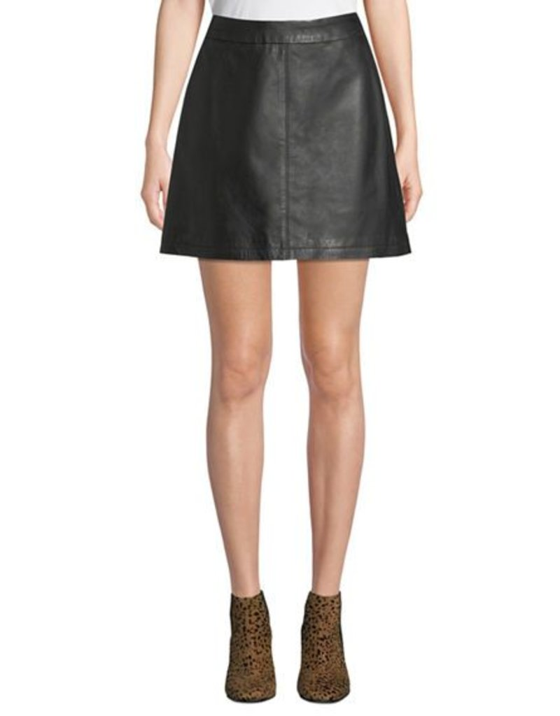 Marrie Leather Skirt