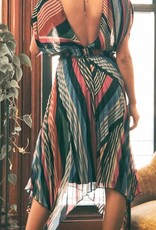 Lia Pleated Dress