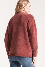 Clara-Chenille V-Neck Sweater