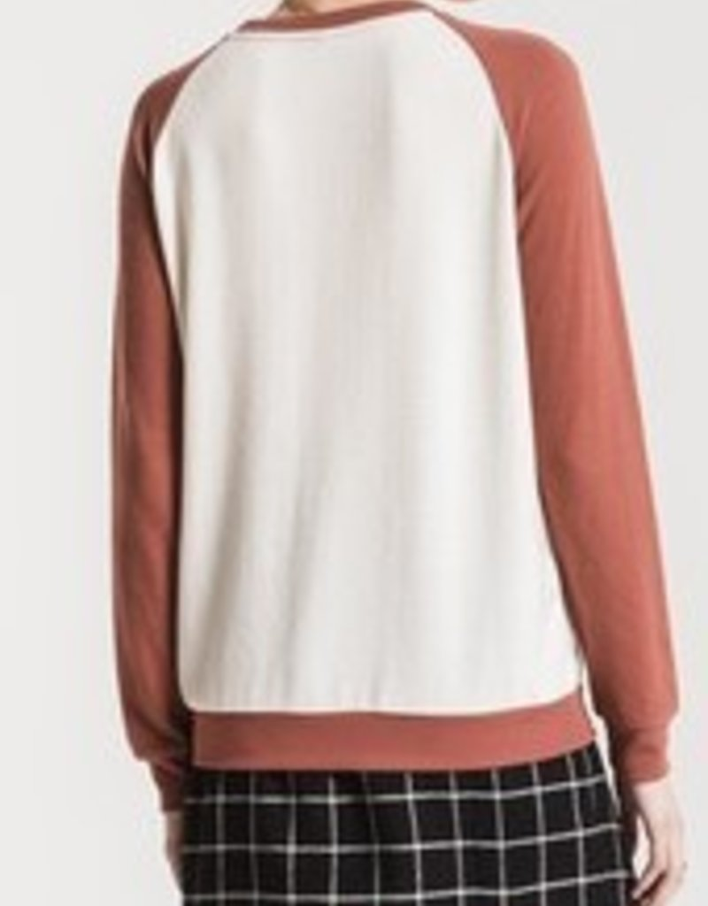 Knit Raglan Long Sleeve Top