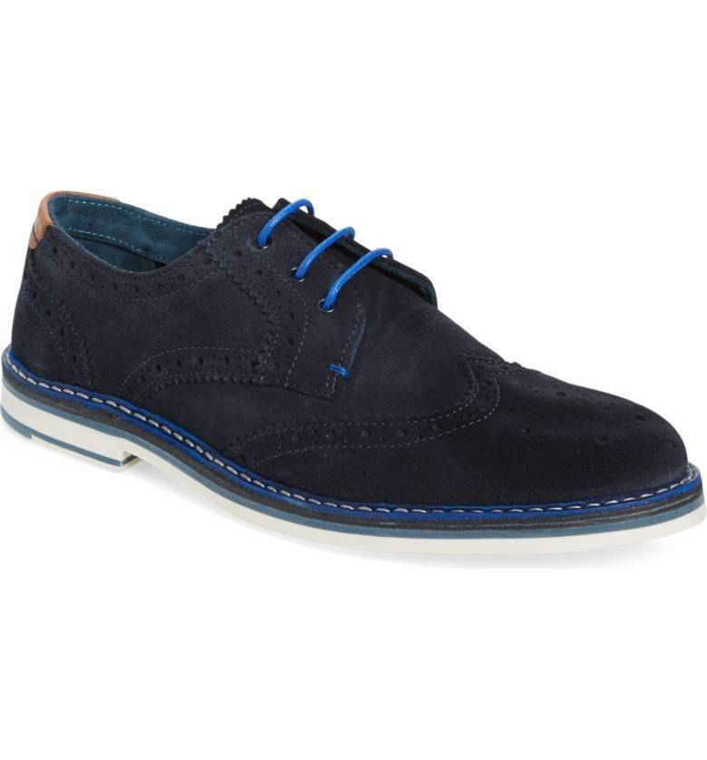 Ted Baker Ted Baker Reith Blue Dress Shoe