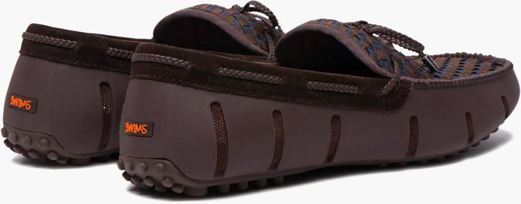 Swims Swims Lace Woven Brown/Navy Loafer