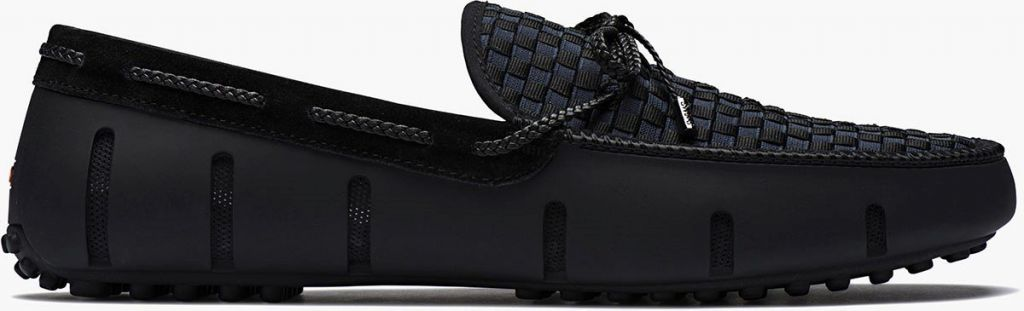 Swims Swims Lace Woven Black Loafer