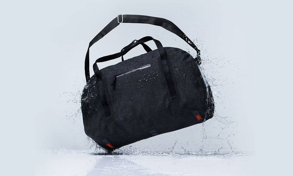 Swims Swims Charcoal Duffel Bag
