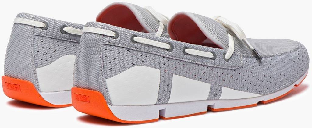 Swims Swims Breeze Lace Grey/White/Orange Loafer