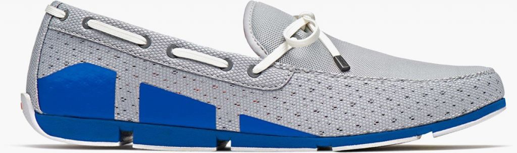 Swims Swims Breeze Lace Grey/Blitz Blue Loafer