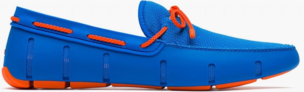 Swims Swims Braided Blitz Blue/Orange Loafer