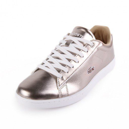 Lacoste Lacoste Carnaby Metallic Casual Shoe