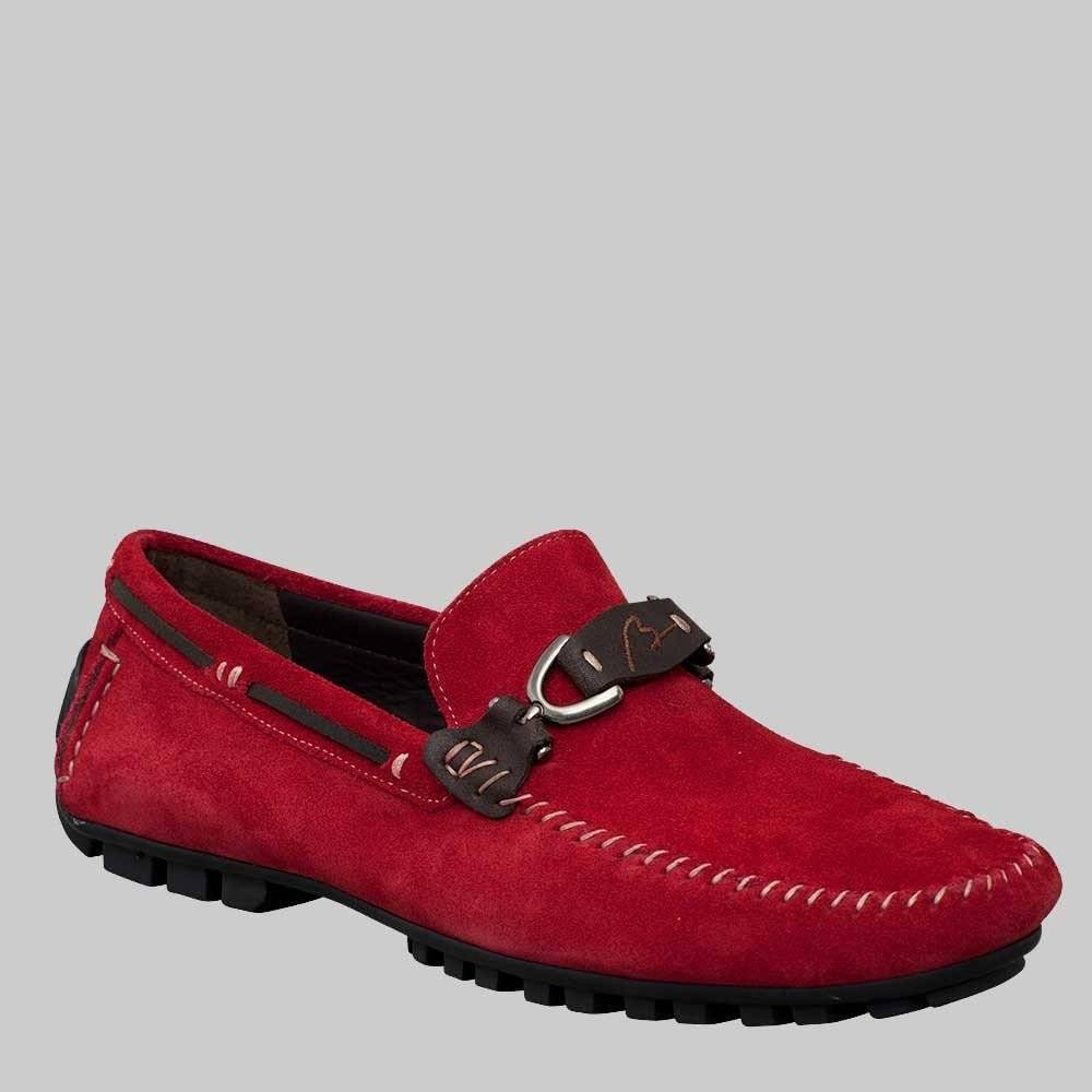 Bacco Bucci Bacco Bucci Flavio Red Loafer