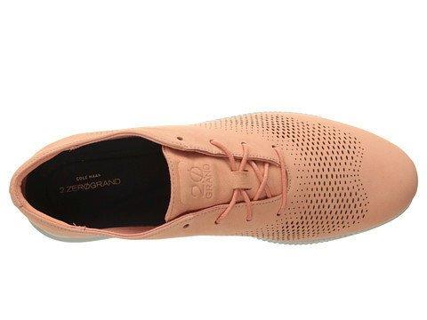 Cole Haan Cole Haan 2.ZeroGrand Laser Wingtip Oxford Nectar Nubuck Casual Shoe