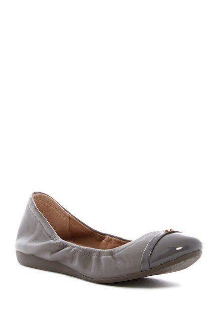 Cole Haan Cole Haan Elsie Logo Ballet Grey Flat