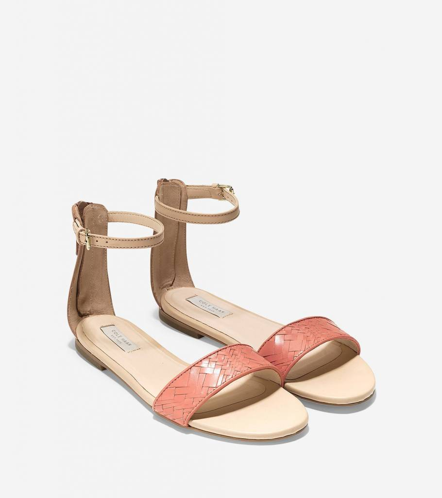 Cole Haan Cole Haan Genevieve Weave Nectar Sandal