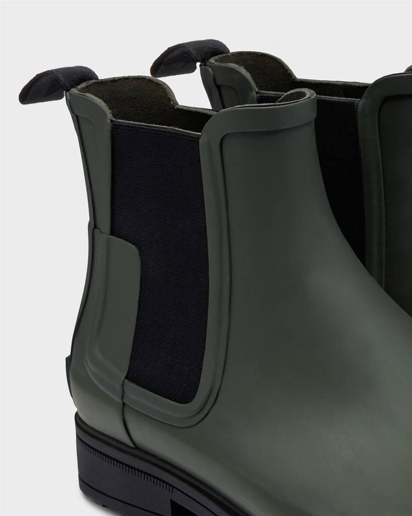 Hunter Hunter Refined Chelsea Olive Boot