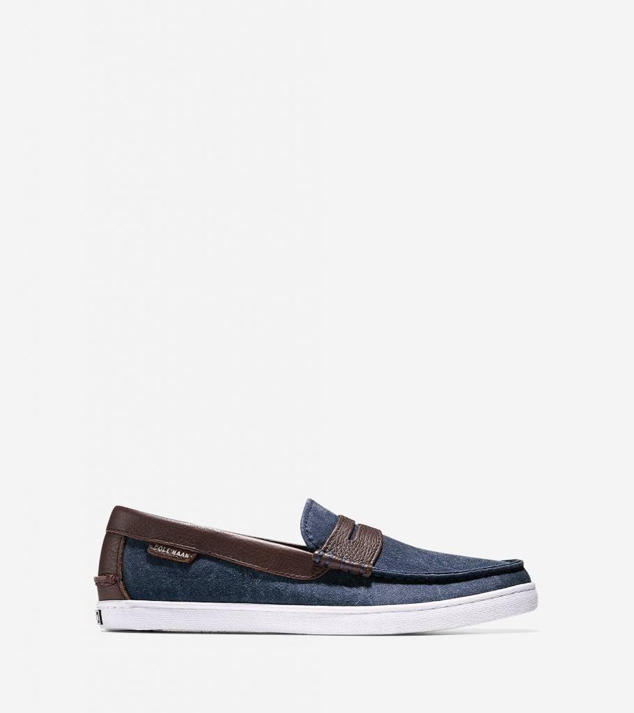 f5f4fe21ad9 Cole Haan Pinch Weekender Blazer Blue Chestnut Loafer - The Shoe ...