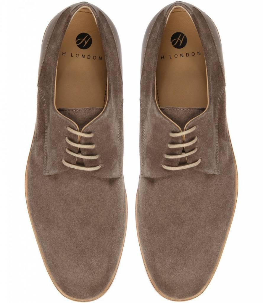 Hudson Of London Hudson of London Enrico Taupe Dress Shoe