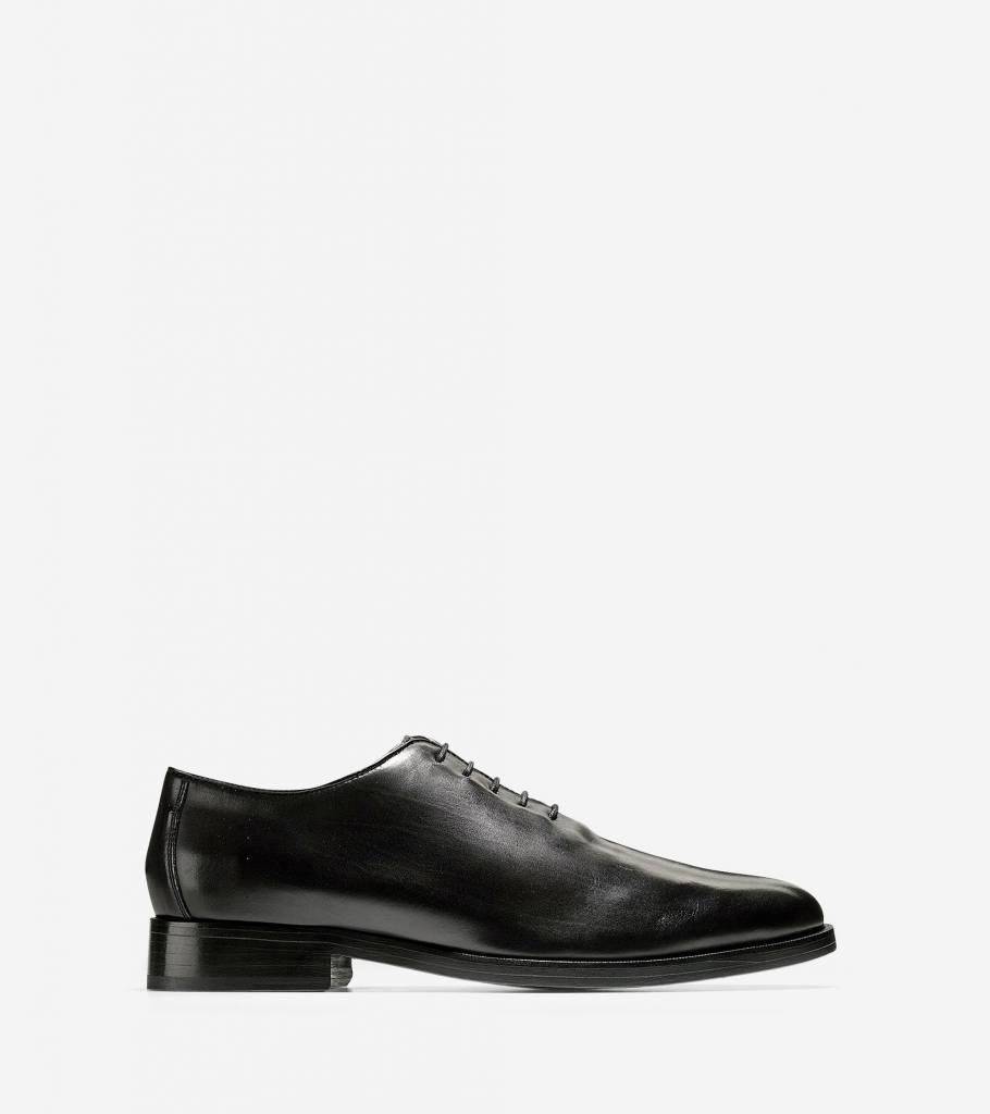 Cole Haan Cole Haan Preston Grand Wholecut Oxford Black Dress Shoe