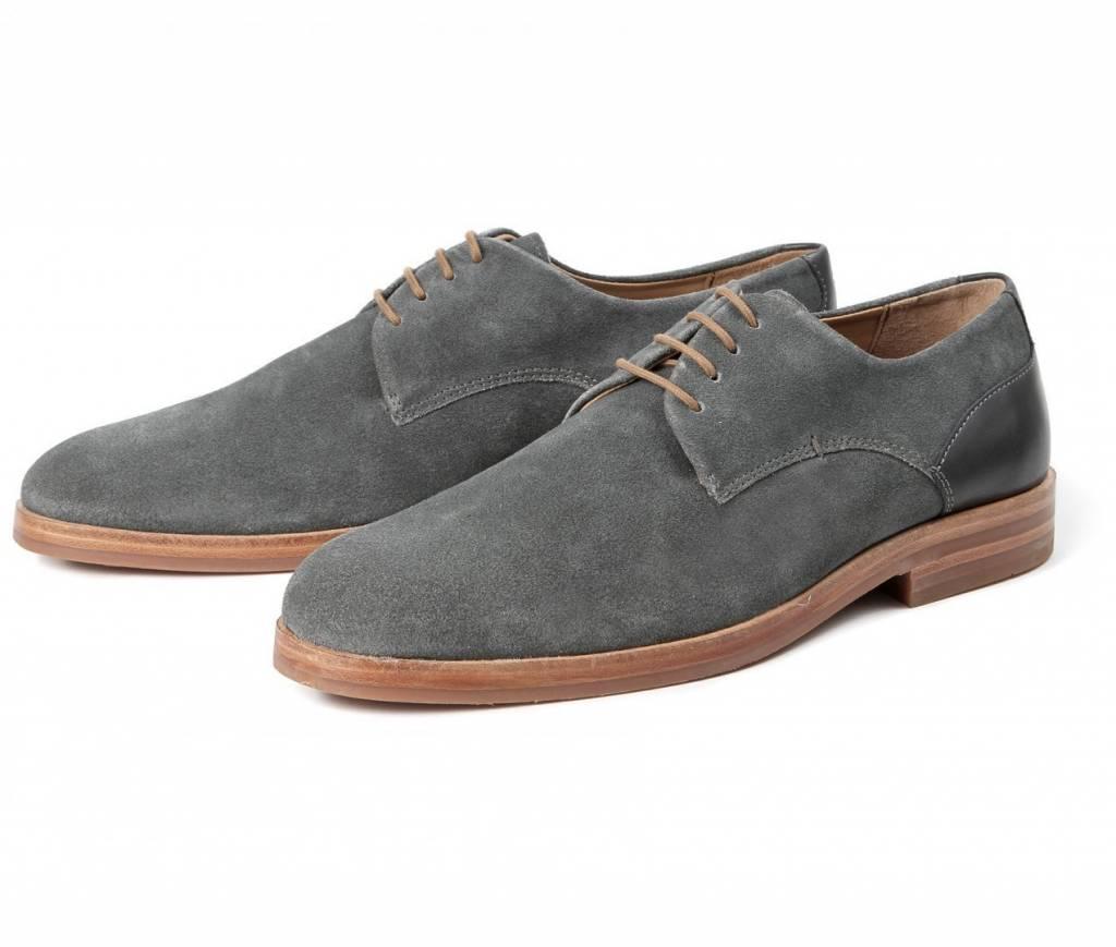 Hudson Of London Hudson of London Enrico Charcoal Dress Shoes