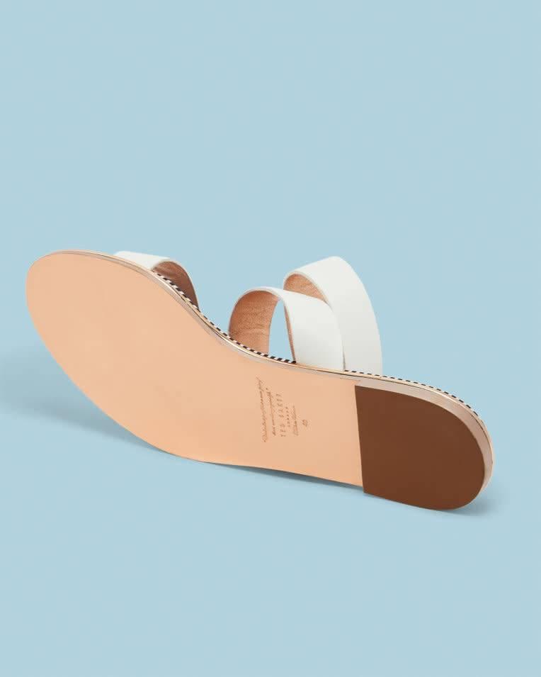 Ted Baker Ted Baker Qereda White Sandal