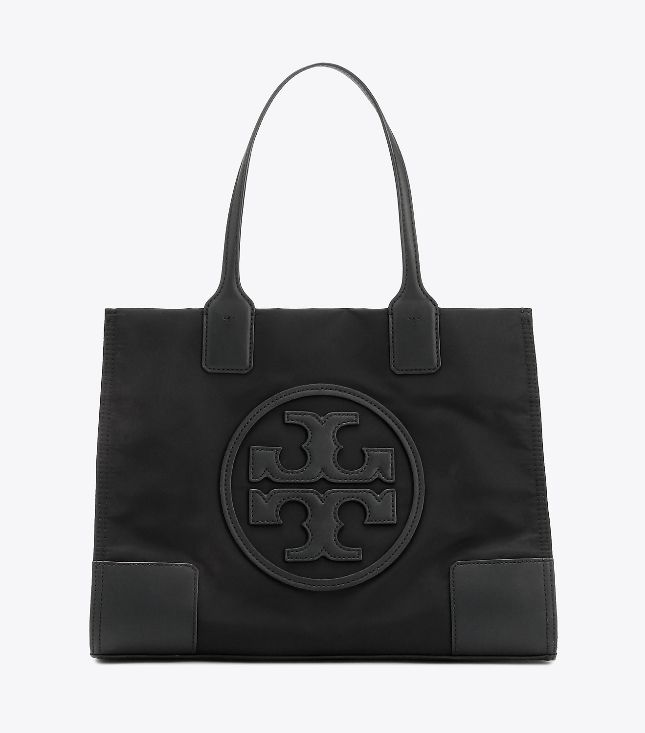 Tory Burch Tory Burch Ella Black Mini Tote