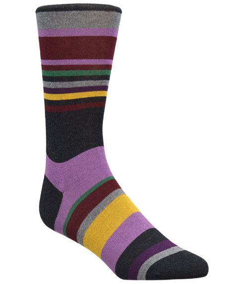 Bugatchi Bugatchi Charcoal Sock