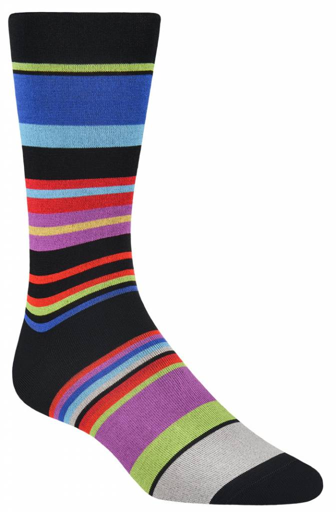 Bugatchi Bugatchi Black Sock
