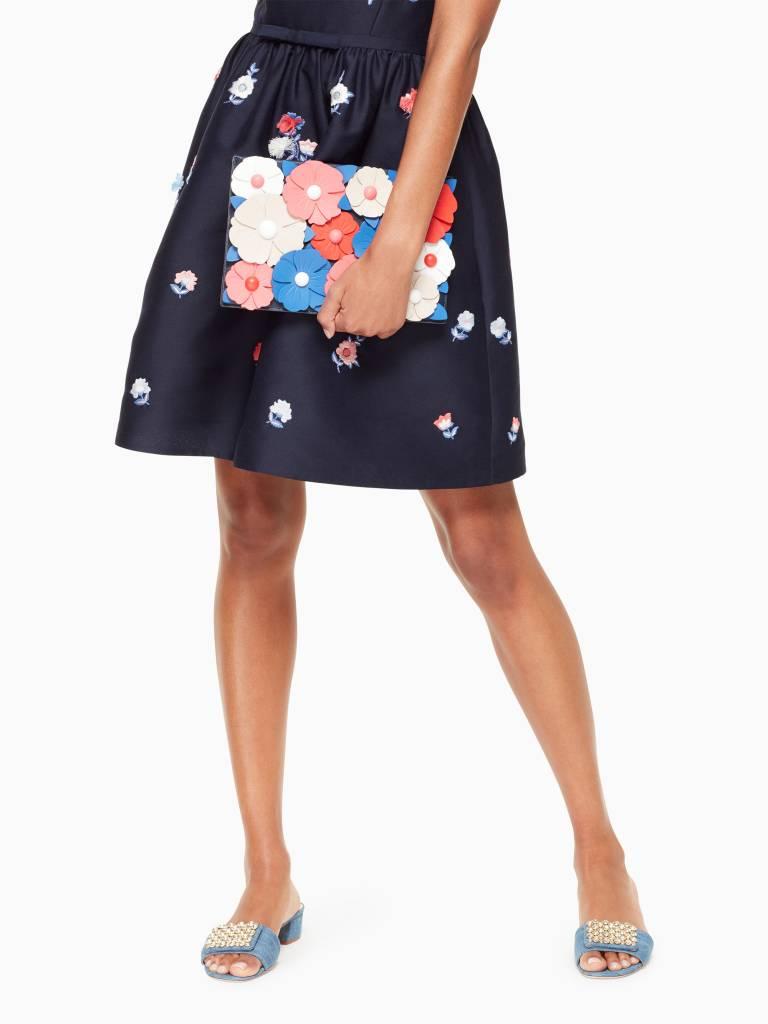Kate Spade Kate Spade Madison Daisy Lane Blazer Blue Multi Sima