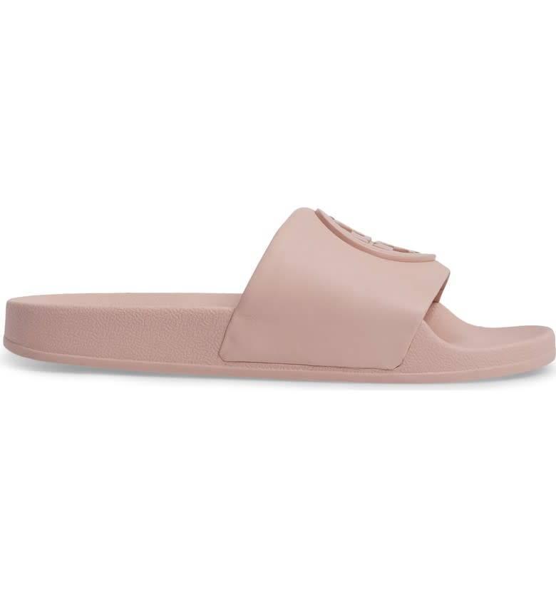 Tory Burch Tory Burch Lina Slide Shell Pink Sandal