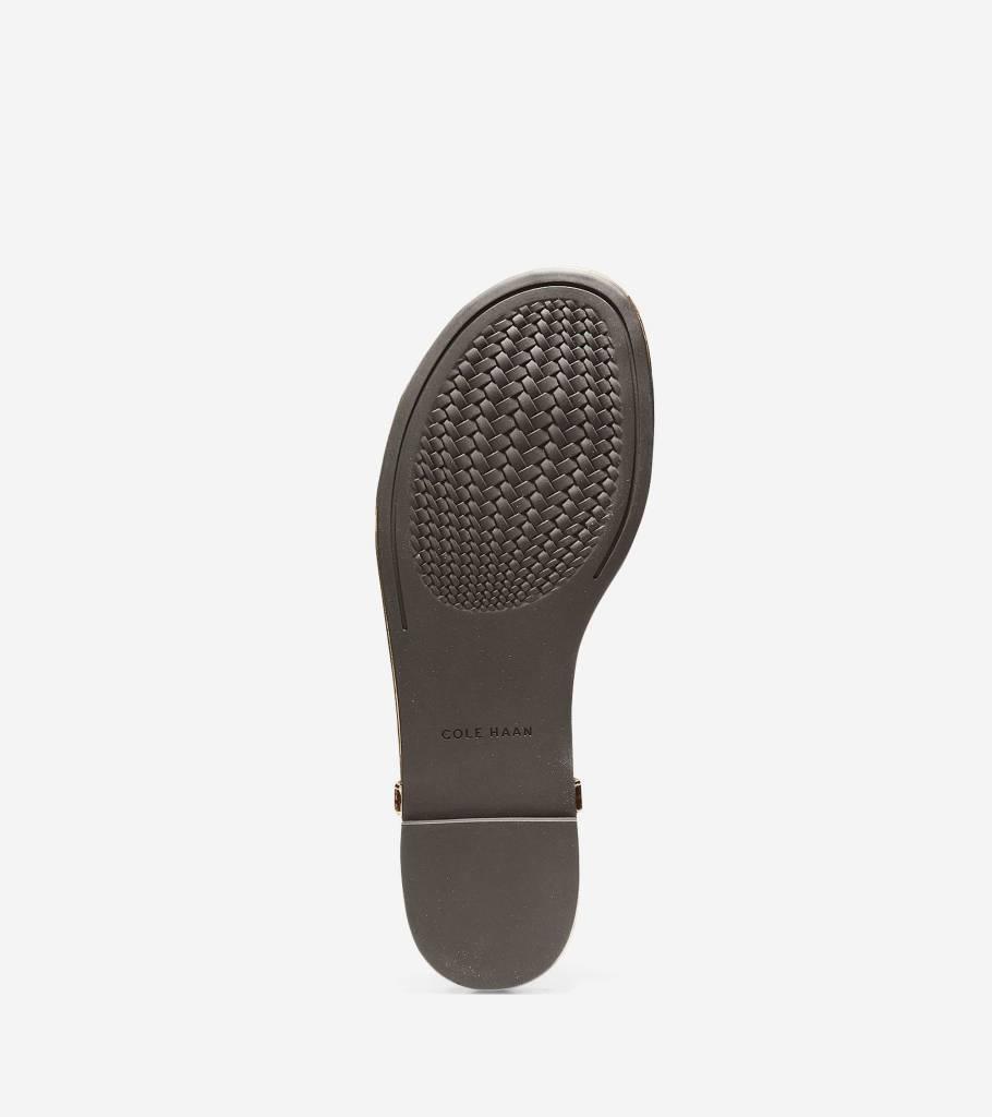 Cole Haan Cole Haan Tali Mini Bow Gold Specchio Sandal