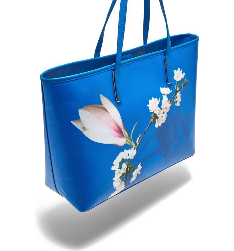 Ted Baker Ted Baker Beckkaa Harmony Canvas Bright Blue Tote
