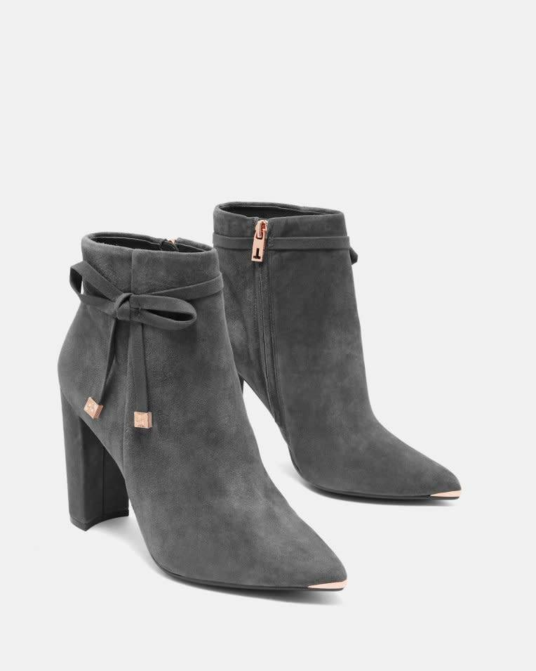 Ted Baker Ted Baker Qatena Charcoal Boot