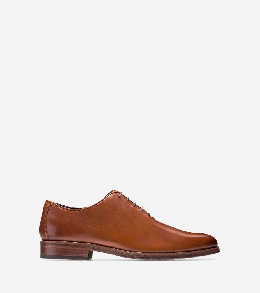 Cole Haan Cole Haan Washington Grand Wholecut Oxford British Tan Dress Shoe