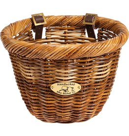BASKET FRNT NANTUCKET CISCO OVAL HONEY