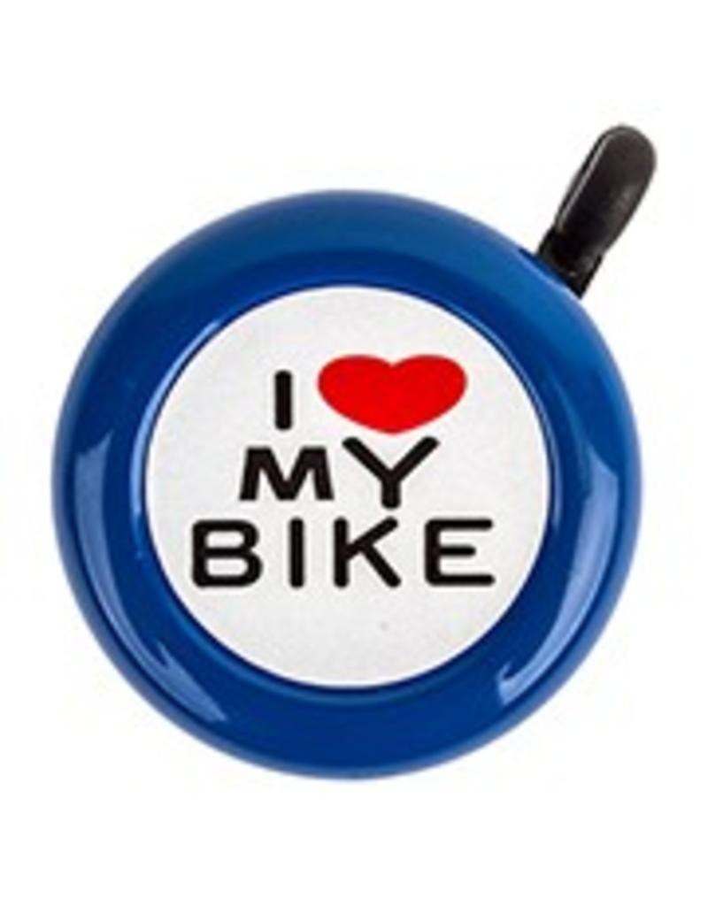 Sunlite BELL I LOVE MY BIKE BLUE