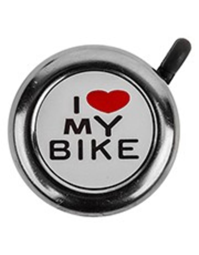BELL I LOVE MY BIKE CHROME